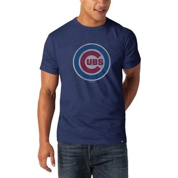 Vêtements Homme T-shirts manches courtes Sportland American T-shirt MLB Chicago Cubs Scrum Tee 47 Brand Multicolor