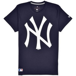 Vêtements Homme T-shirts manches courtes New Era T-shirt MLB New-York Yankees  Navy Multicolor