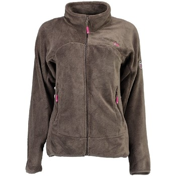 Vêtements Fille Polaires Geographical Norway Polaire Fille Unicorne Taupe