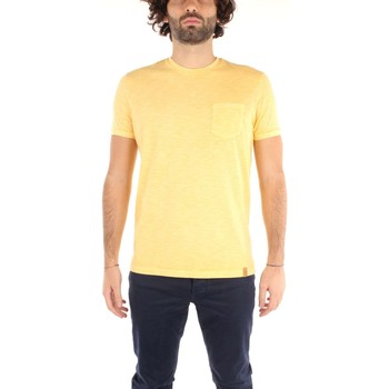 Vêtements Homme T-shirts manches courtes Penn-rich By Woolrich WYTEE0374 T-shirt Homme yellow yellow