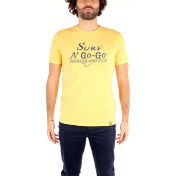 Vêtements Homme T-shirts manches courtes Penn-rich By Woolrich WYTEE0380 T-shirt Homme yellow yellow