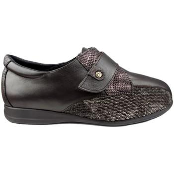 Chaussures Femme Ville basse Calzamedi largeur spéciale BROWN