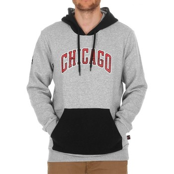 Vêtements Homme Sweats adidas Originals Kaptur Chicago Bulls Nba Gris-Noir