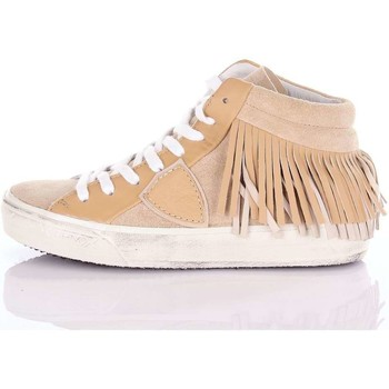 Chaussures Femme Baskets basses Philippe Model Paris MDHDFL15 Sneakers Femme Beige Beige