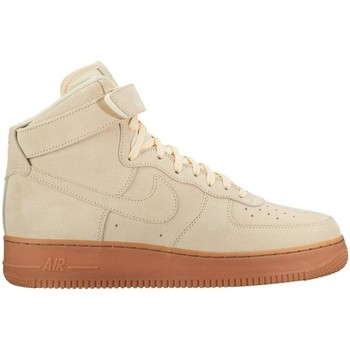 Chaussures Homme Baskets montantes Nike ZAPATILLAS  AIR FORCE 1 HIGH Beige