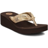 Chaussures Femme Tongs Gioseppo Serina Gold Marron