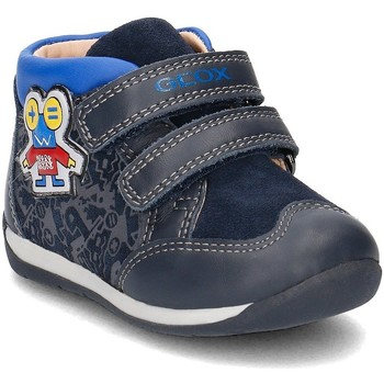 Chaussures Enfant Baskets montantes Geox Baby Each Bleu marine