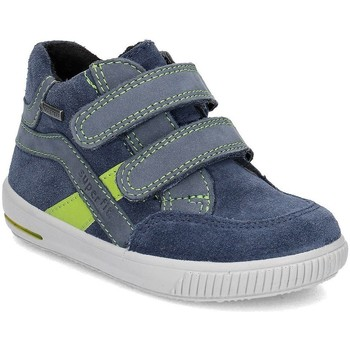 Chaussures Enfant Baskets montantes Superfit Moppy Bleu marine
