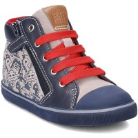 Chaussures Enfant Baskets montantes Geox Baby Kiwi Gris