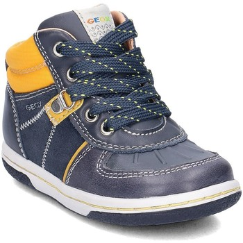 Chaussures Enfant Baskets montantes Geox Baby Flick Bleu marine