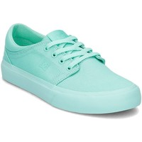 Chaussures Femme Baskets basses DC Shoes Trase TX Vert