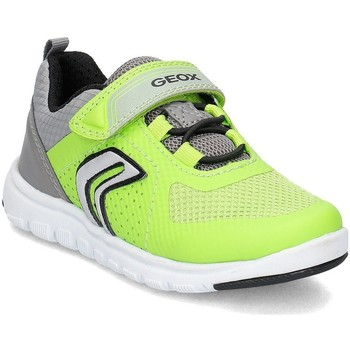Chaussures Enfant Baskets basses Geox Junior Xunday Vert
