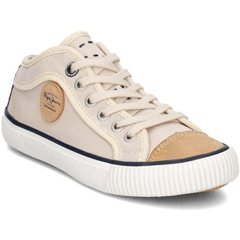 Chaussures Enfant Baskets basses Pepe jeans Industry Beige