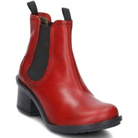 Chaussures Femme Bottines Fly London Coop Rouge