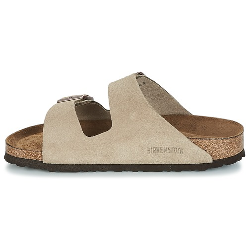 Taupe Birkenstock Arizona Femme Mules Sfb IWDHebE9Y2