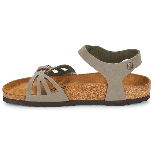 Nu Bali pieds Birkenstock Et Gris Sandales Femme sdxtQoCBrh