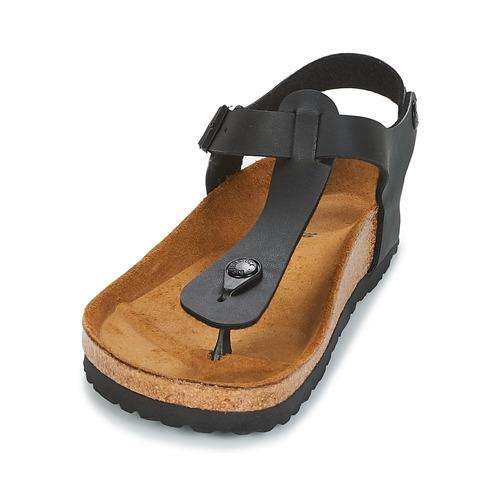 Sandales Nu Kairo Et pieds Femme Birkenstock Noir 9EDH2I