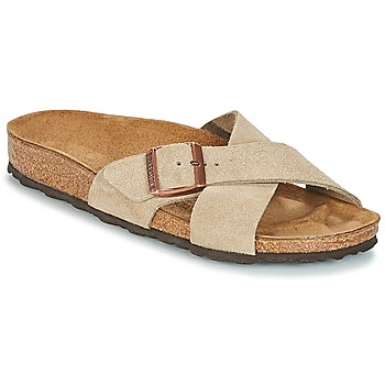 Chaussures Femme Mules Birkenstock SIENA Taupe