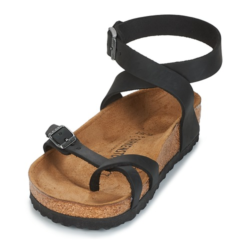 pieds Yara Sandales Nu Birkenstock Et Femme Noir 29EDWHIY