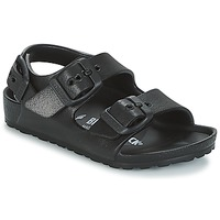 Chaussures Enfant Sandales et Nu-pieds Birkenstock MILANO-EVA Noir