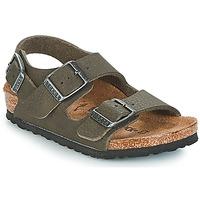 Chaussures Garçon Sandales et Nu-pieds Birkenstock MILANO Vert