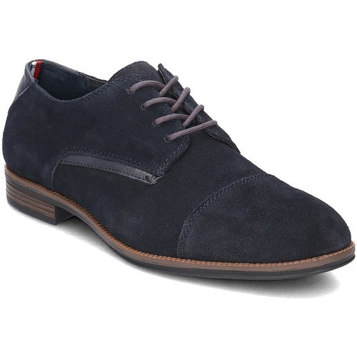 Chaussures Homme Derbies Tommy Hilfiger Tommy Colton 9B Bleu marine