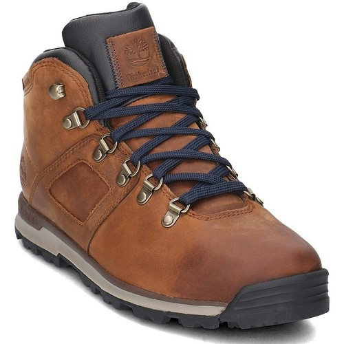 Chaussures Homme Baskets montantes Timberland Scramble Mid Leather Marron