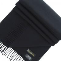 Accessoires textile Femme Echarpes / Etoles / Foulards Emporio Balzani echarpe 100 % cachemire noir Noir