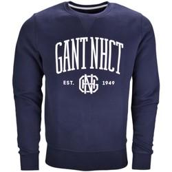 Vêtements Homme Sweats Gant Sweat col rond  bleu marine pour homme Bleu