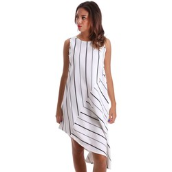 Vêtements Femme Robes courtes Y Not? 17PEY016 Dress Femmes Blanc Blanc