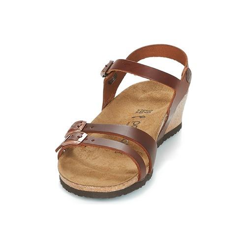 Papillio Et Nu Sandales Lana Femme Cognac pieds OvNmn80w