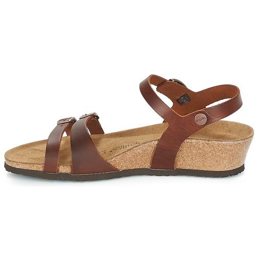 pieds Cognac Lana Femme Et Nu Papillio Sandales Nnk0P8XwO