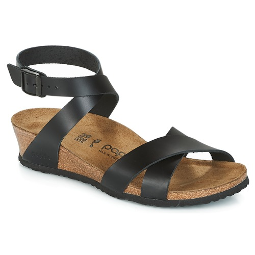 Nu Sandales Femme Noir Et Papillio pieds Lola 3ALq54jR