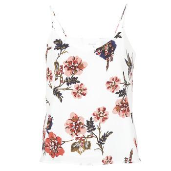 Vêtements Femme Débardeurs / T-shirts sans manche Moony Mood IDARI Blanc