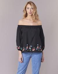 Vêtements Femme Tops / Blouses Moony Mood IFITI Noir