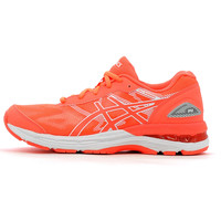 Chaussures Baskets basses Asics Gel Nimbus 19 GS Flash Coral / White