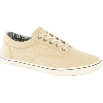 Chaussures Homme Baskets mode Jack & Jones Sneakers Toile Vision  - les BEIGES