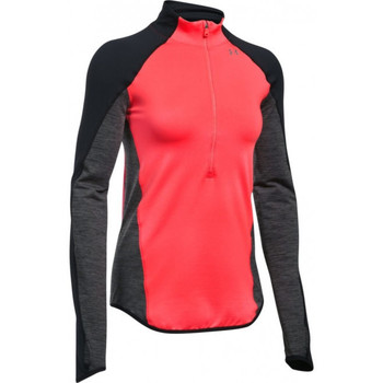 Vêtements Femme T-shirts manches longues Under Armour Tee-shirt Under Rouge