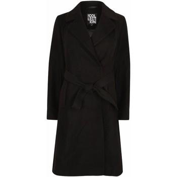 Vêtements Femme Parkas Anastasia Envelopper le manteau d'hiver pour les femmes Black