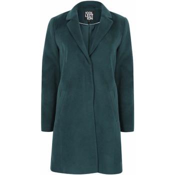 Vêtements Femme Manteaux Anastasia Manteau d'hiver zippé pour femmes avec ceinture Green