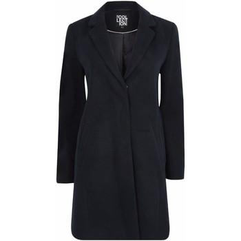 Vêtements Femme Manteaux Anastasia Manteau d'hiver zippé pour femmes avec ceinture Blue