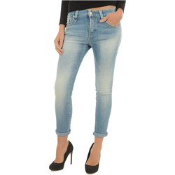 Vêtements Femme Jeans boyfriend Meltin'pot Jean Girlfriend Stretch Lakita  - les BLEUS