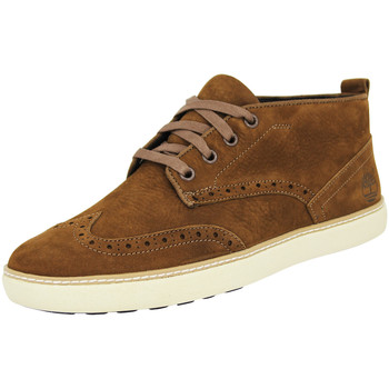 Chaussures Homme Baskets montantes Timberland EARTHKEEPERS HUDSTON BROGUE CHUKKA Chaussures de Ville Homme Cu marron