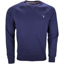 Vêtements Homme Sweats Gant Sweat molleton  bleu marine pour homme Bleu