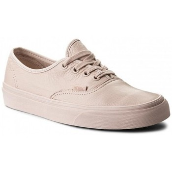 Chaussures Femme Baskets basses Vans Chaussures  U Authentic - Leather Mono / Sepia Rose Rose