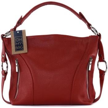 Sacs Femme Sacs porté épaule Oh My Bag Sac à Main CUIR femme - Modèle S (gd modele) rouge  clair ROUGE CLAIR