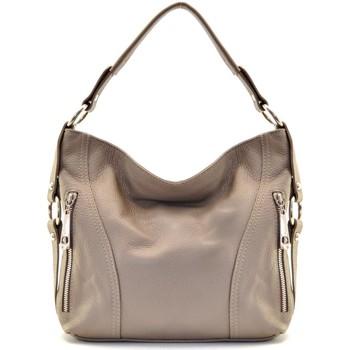 Sacs Femme Sacs porté épaule Oh My Bag Sac à Main CUIR femme - Modèle S (gd modele) taupe foncé TAUPE FONCE