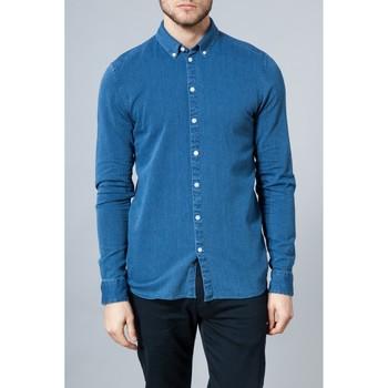 Vêtements Homme Chemises manches longues Minimum WARTON Bleu