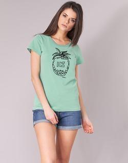 Vêtements Femme T-shirts manches courtes Bench BLWG002642 Vert