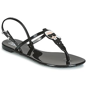 Chaussures Femme Sandales et Nu-pieds Karl Lagerfeld JELLY KARL IKONIC SLING Noir